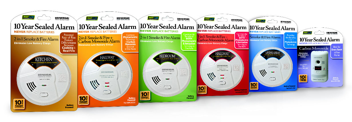 Shop 10 year alarms at Universal Security Instruments
