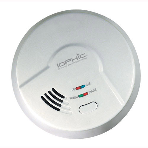 smoke, fire, gas, carbon monoxide detector