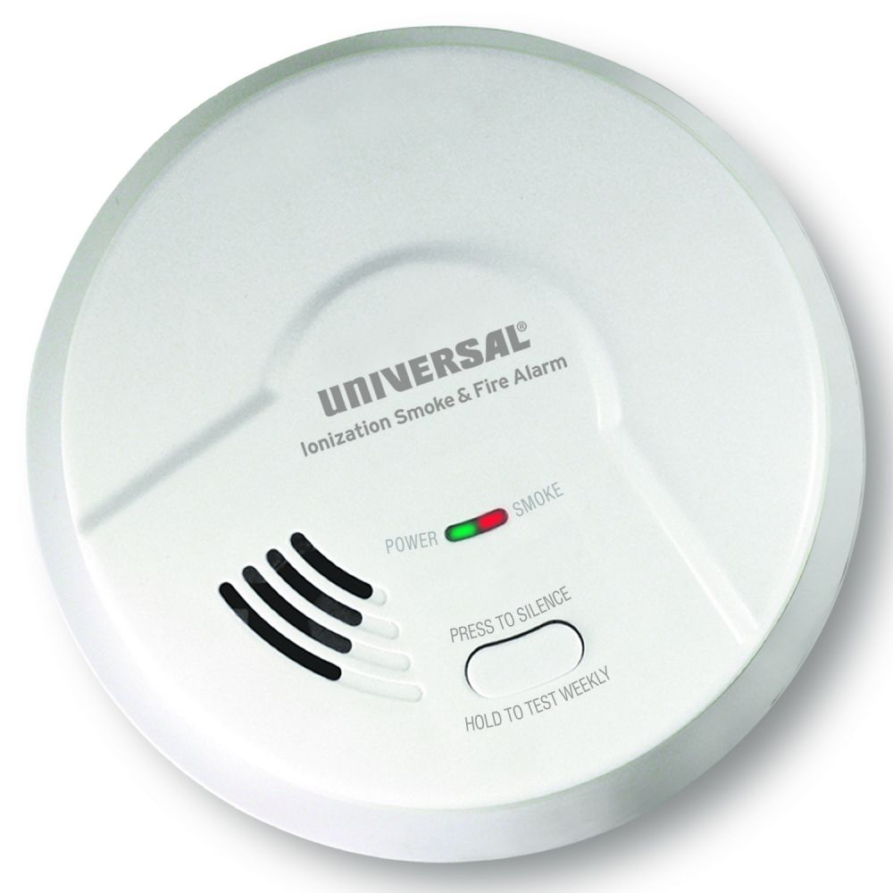 Universal Security Instruments 2975 Battery-Operated Ionization Smoke and Fire Alarm