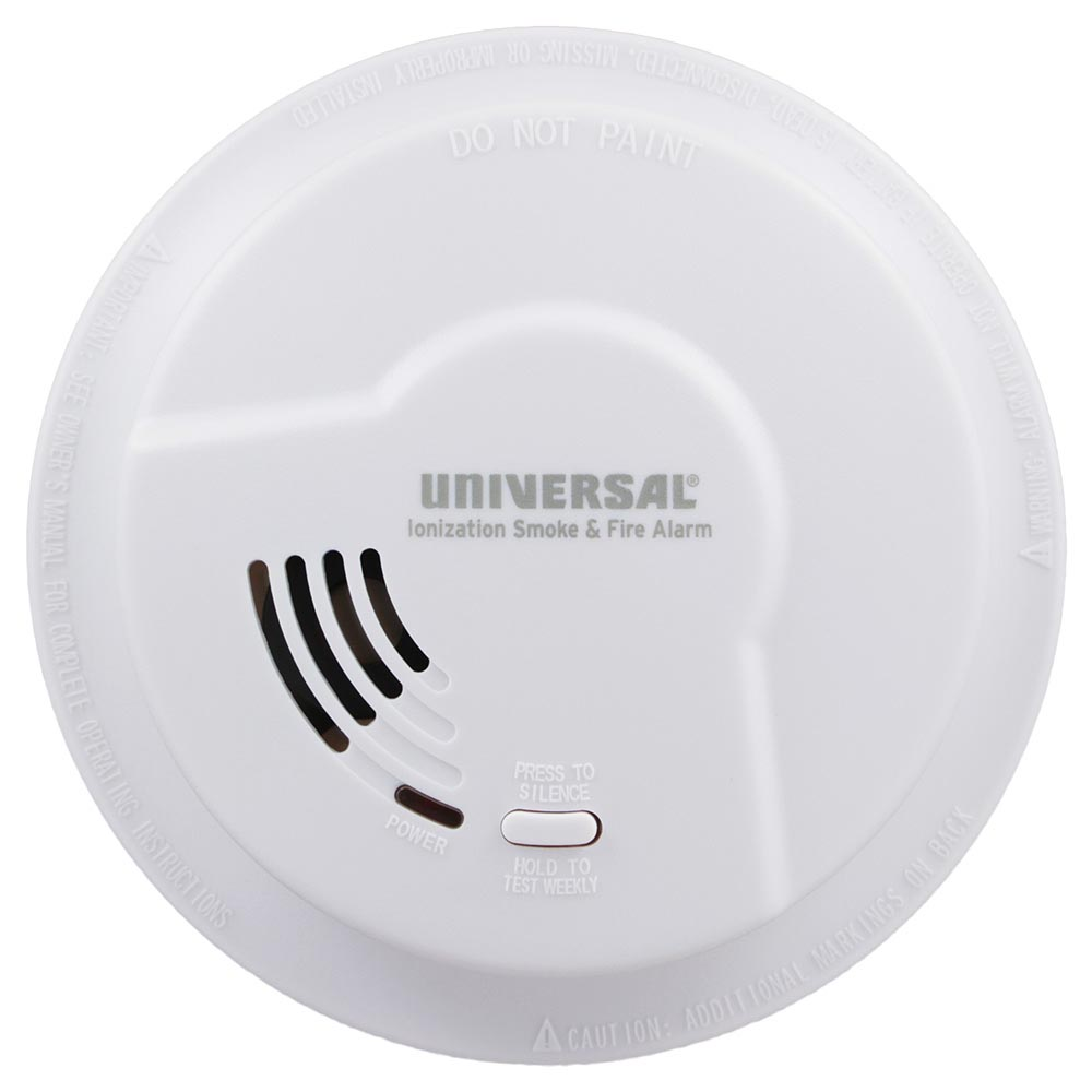 Universal Security Instruments 976LR Battery-Operated Ionization Smoke & Fire Alarm