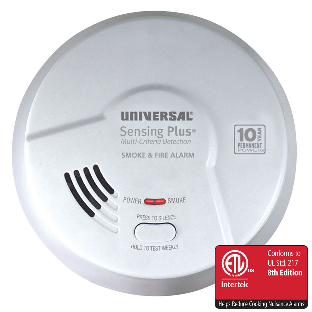 Sensing Plus AMIK3051SC Multi Criteria Kitchen Smoke & Fire Alarm With 10 Year Battery