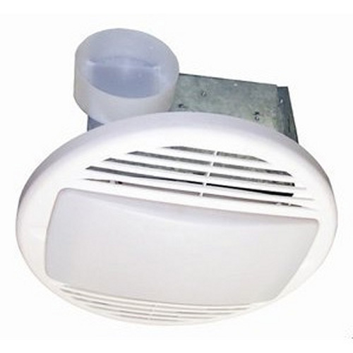 USI Electric BF-504LF Bath Exhaust Fan with Custom-Designed Motor and 26-Watt Fluorescent Light, 50 CFM