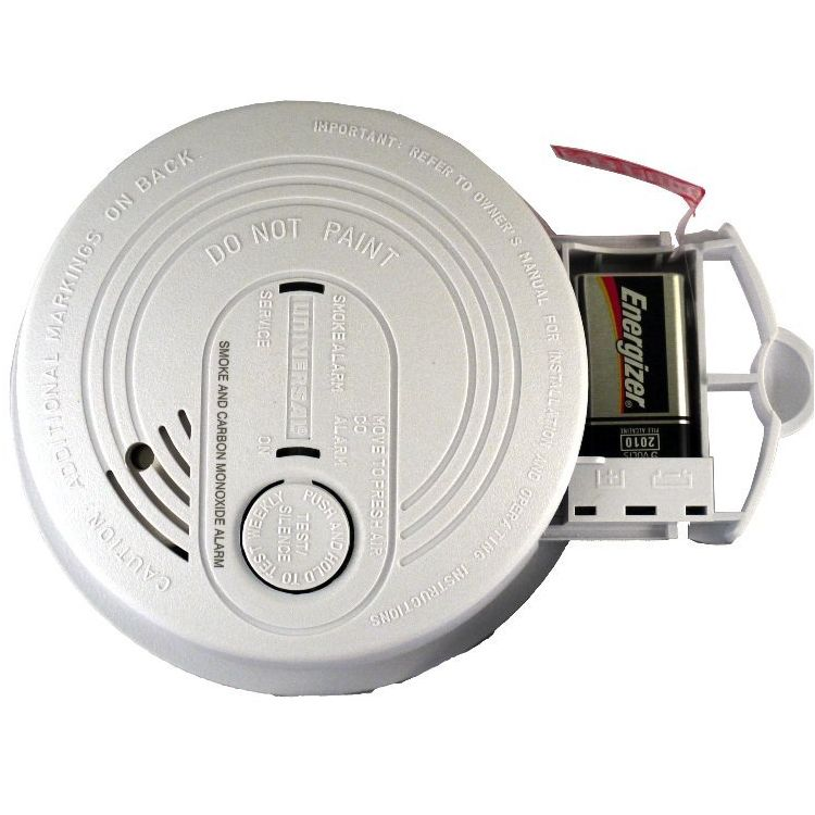 Universal Security Instruments CD-9795 120-Volt AC/DC Wired-In Combination Smoke and Carbon Monoxide Alarm