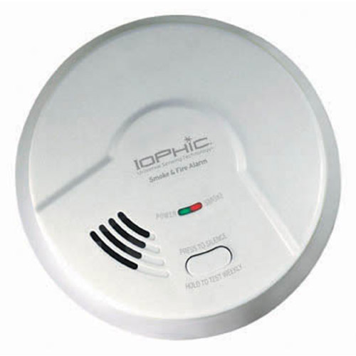 Universal Security Instruments MDS300 Universal Smoke Sensing Technology (IoPhic) Battery-Operated Smoke and Fire Alarm