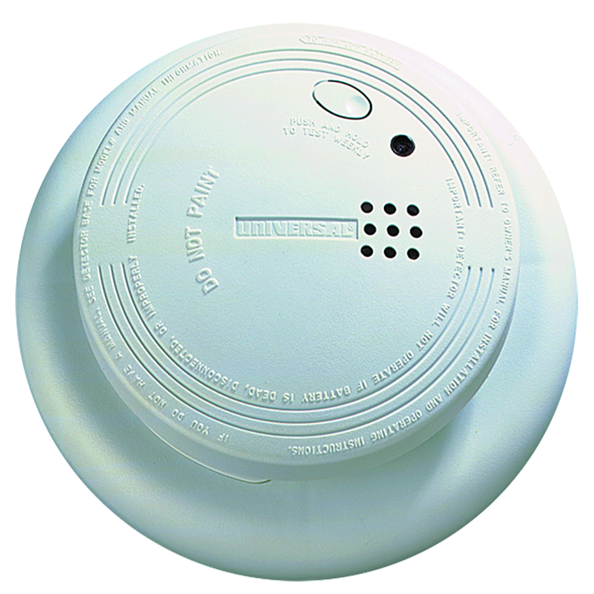 Universal Security Instruments SS‑901‑LR Battery Operated Photoelectric Smoke and Fire Alarm