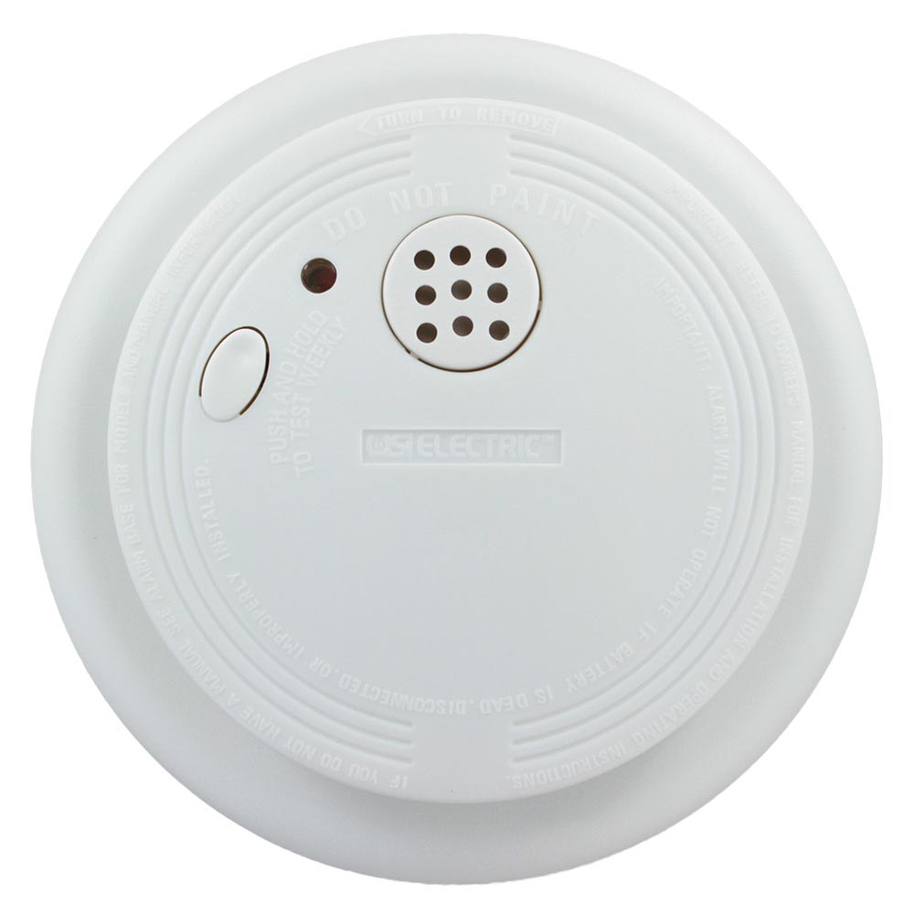 USI Electric USI-1227L Battery-Operated Ionization Smoke and Fire Alarm
