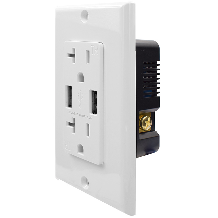 usb outlet charger
